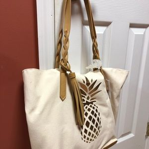Sonoma Bags - Pineapple Canvas Tote